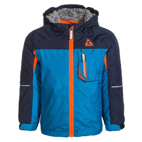 Gerry Glen Jacket - Insulated, Fleece Lined (For Toddler and Little Boys) in Blue Heather