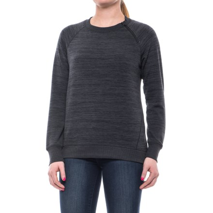 42c9be990b Clearance. Gerry Journey Asymmetrical Zip Neck Shirt - Long Sleeve (For  Women) in Charcoal -