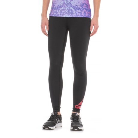 Gerry Logo Leggings - UPF 30+ (For Women) in Black