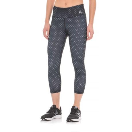 Gerry Mini-Dot Capri Leggings - UPF 30+ (For Women) in Black