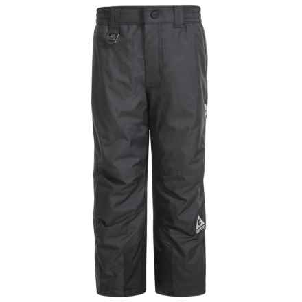 Gerry Risol Solid Ski Pants - Insulated (For Big Boys) in Black - Closeouts