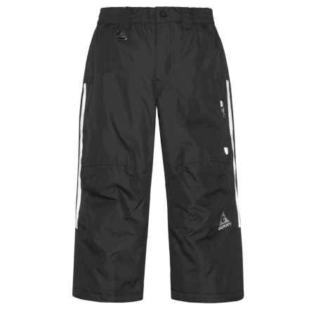 Gerry Risol Solid Ski Pants - Insulated (For Little Boys) in Black - Closeouts