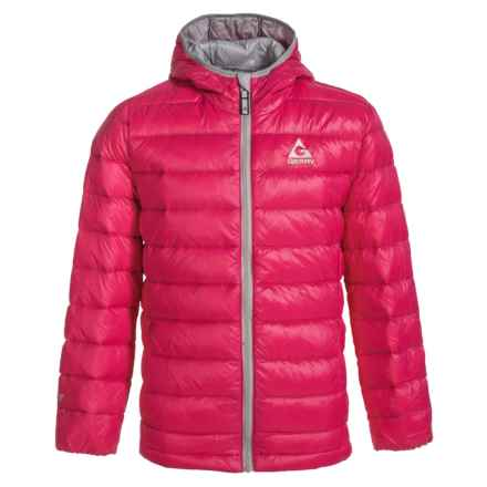 Gerry Spencer Down Jacket (For Girls) in Cerise - Closeouts