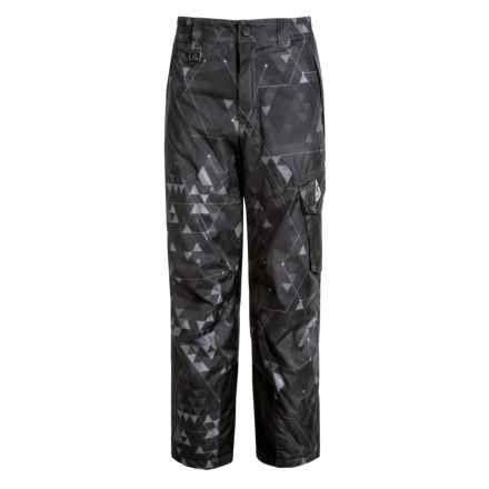 Gerry Stance Printed Ski Pants - Insulated (For Big Boys) in Dark Grey - Closeouts