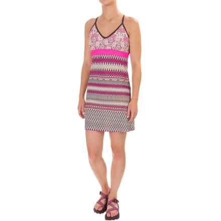 Gerry Votive Minaret Karma Outdoor Dress - Built-In Bra, Sleeveless (For Women) in Raspberry - Closeouts