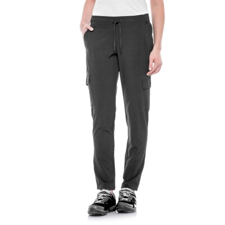 Gerry Wandered Cargo Pants (For Women) in Black