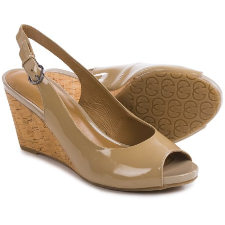 Gerry Weber Adelina 05 Wedge Sandals Patent Leather (For Women)