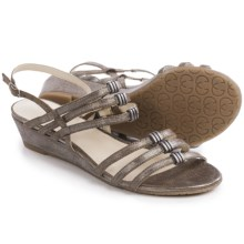 Gerry Weber Alisha 03 Sandals - Leather (For Women) in Old Bronze Metallic - Closeouts