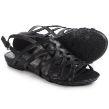 Gerry Weber Beach 01 Sandals (For Women) in Black - Closeouts