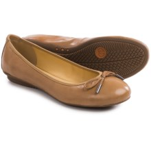 Gerry Weber Bella 02 Ballet Flats - Leather (For Women) in Nude - Closeouts