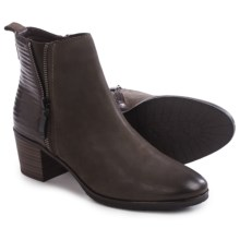 Gerry Weber Casey 01 Ankle Boots - Leather (For Women) in Anthracite - Closeouts