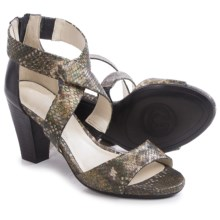 Gerry Weber Maggi 02 Sandals - Leather (For Women) in Bronze - Closeouts