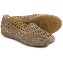 Gerry Weber Maren 11 Shoes - Suede, Slip-Ons (For Women) in Khaki - Closeouts
