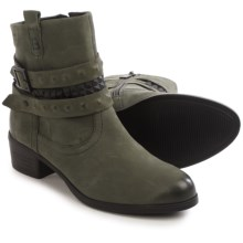 Gerry Weber Susann 11 Ankle Boots - Nubuck (For Women) in Dark Grey - Closeouts