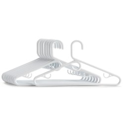 Get Sorted Heavy-Duty Hangers - 8-Pack in White