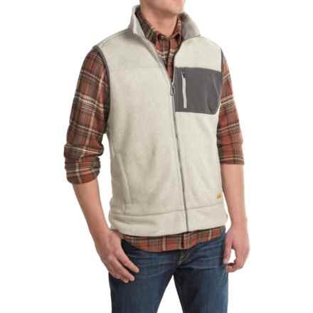 G.H. Bass & Co. Arctic Terrain Fleece Explorer Vest (For Men) in Silver Birch - Closeouts