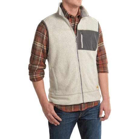 G.H. Bass & Co. Arctic Terrain Fleece Explorer Vest (For Men) in Silver Birch