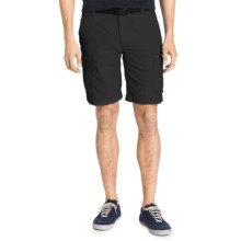 G.H. Bass & Co. Belted Sunkhaze Adventure Shorts - UPF 30+ (For Men) in Black - Closeouts
