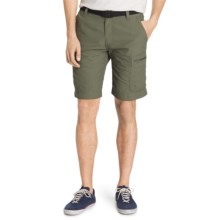 G.H. Bass & Co. Belted Sunkhaze Adventure Shorts - UPF 30+ (For Men) in Dusty Olive - Closeouts