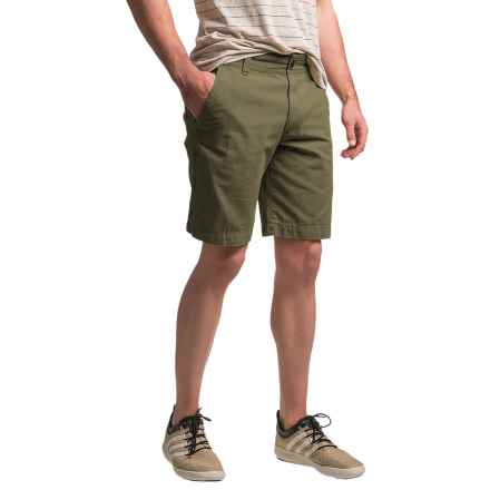 G.H. Bass & Co. Canvas Terrain Shorts (For Men) in Olive Night - Closeouts