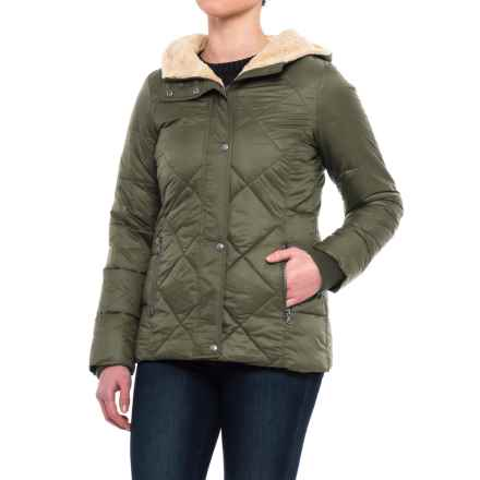 G.H. Bass & Co. Diamond Quilted Parka - Insulated (For Women) in Army Green - Closeouts