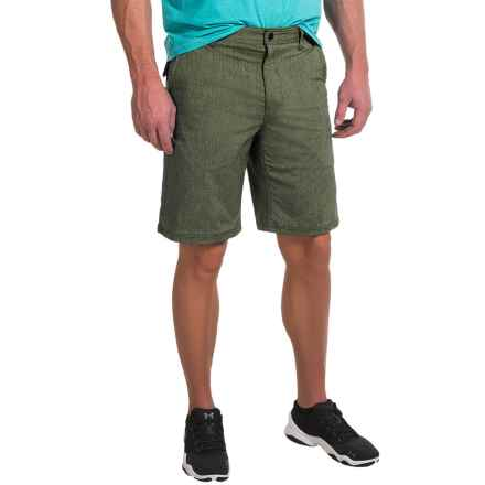 G.H. Bass & Co. Explorer Heathered Shorts (For Men) in Olive Night - Closeouts