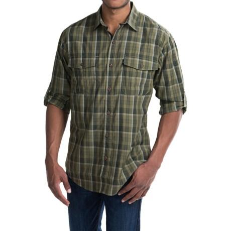 G.H. Bass & Co. Fancy Explorer Plaid Shirt - UPF 40, Long Sleeve (For Men) in Burnt Olive
