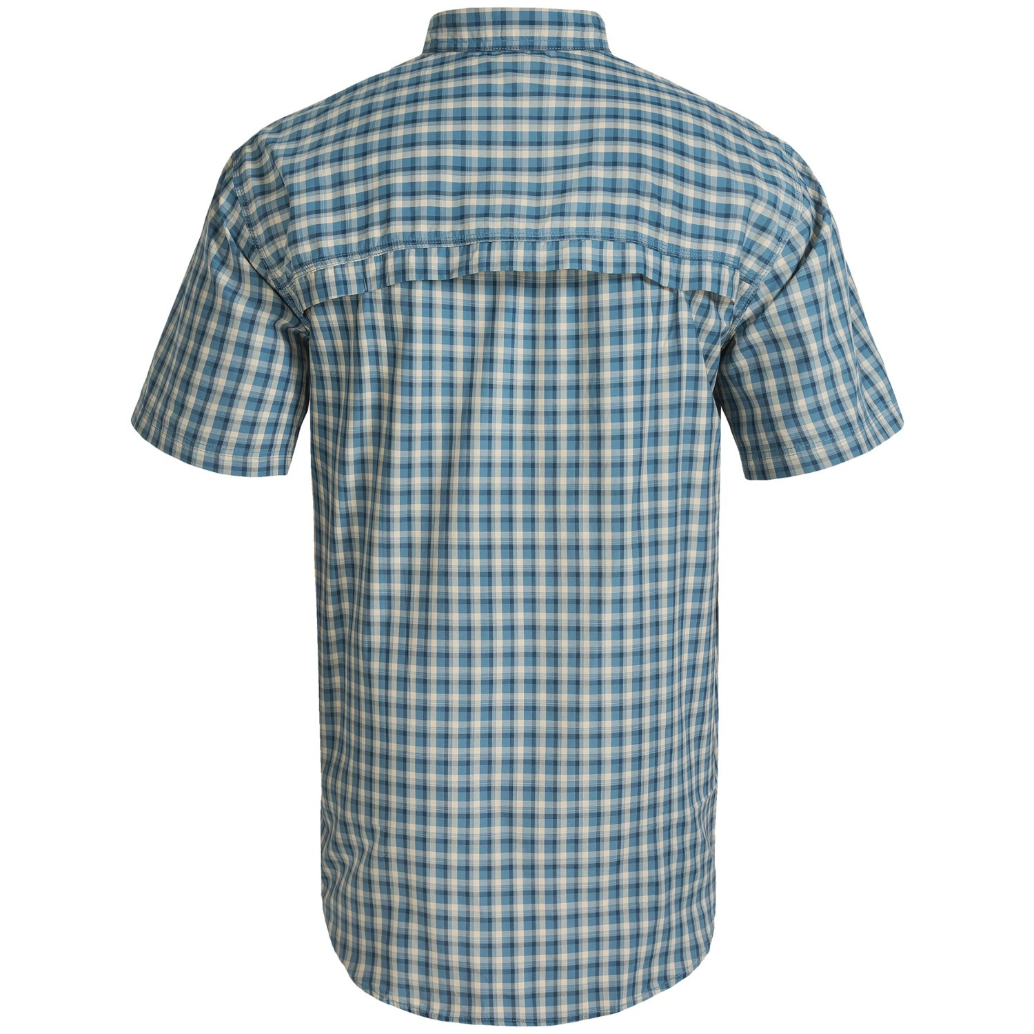 G h bass co fancy explorer shirt for big and tall men for Big and tall quick dry shirts