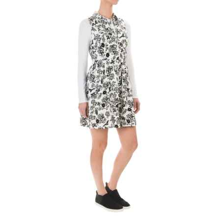 G.H. Bass & Co. Flying Floral Dress - Sleeveless (For Women) in Cream Multi - Closeouts