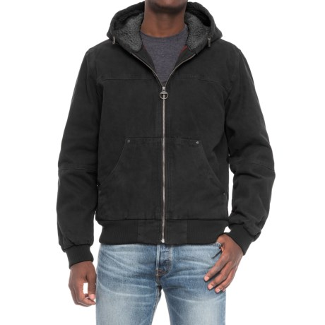 Image of G.H. Bass and Co. Heavy Cotton Canvas Hooded Jacket (For Men)