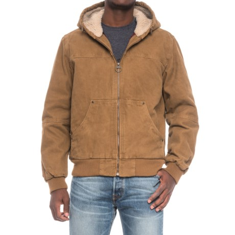 G.H. Bass and Co. Heavy Cotton Canvas Hooded Jacket (For Men)