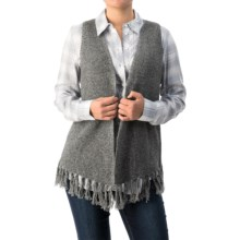 G.H. Bass & Co. Ina Vest (For Women) in Black - Closeouts