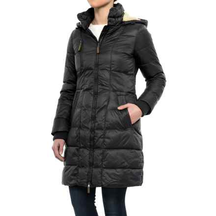 G.H. Bass & Co. Long Box-Quilted Parka - Insulated (For Women) in Black - Closeouts