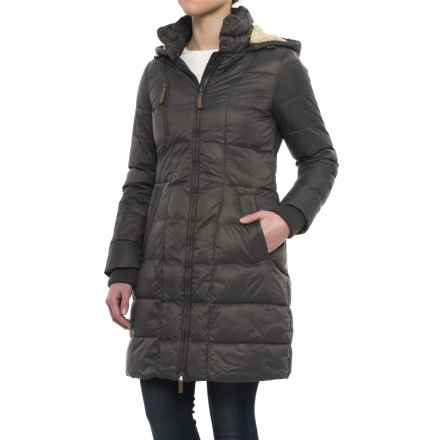 G.H. Bass & Co. Long Box-Quilted Parka - Insulated (For Women) in Eiffel Tower - Closeouts