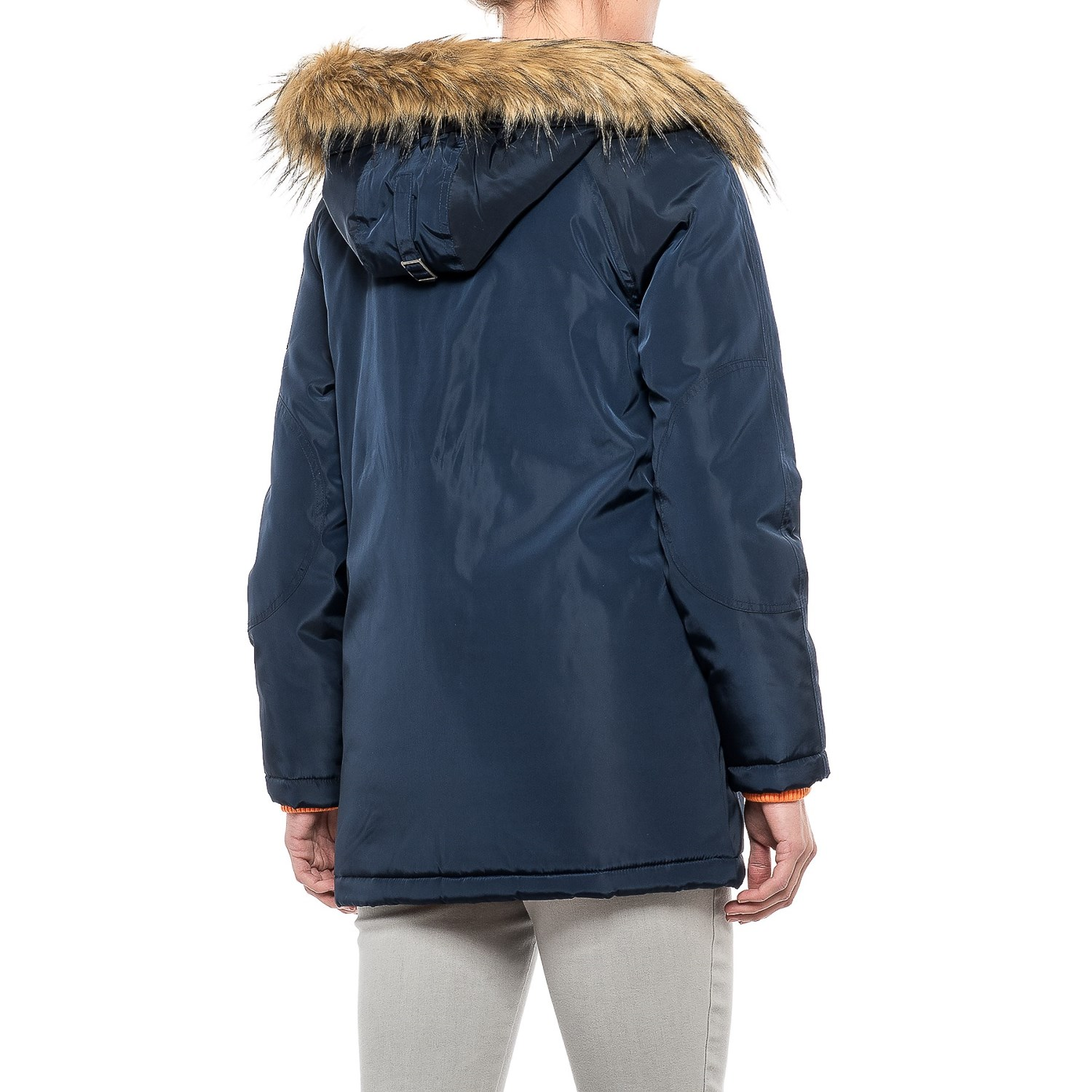 G.H. Bass & Co. Long Hooded Parka (For Women) - Save 64%