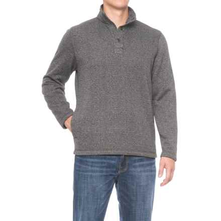 G.H. Bass & Co. Madawaska Fleece Sweater (For Men) in Griffin Heather - Closeouts