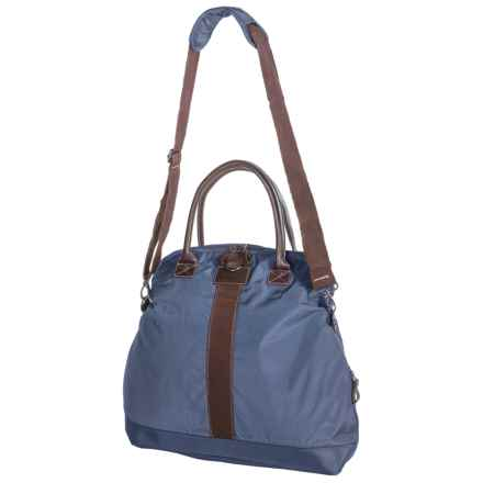 G.H. Bass & Co. McKinley Fold-Over Duffel Bag in Blue - Closeouts