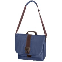G.H. Bass & Co. McKinley Messenger Bag in Blue - Closeouts