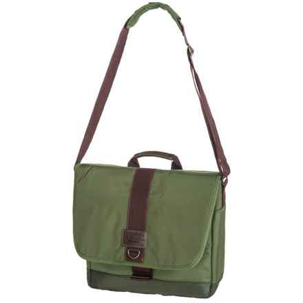 G.H. Bass & Co. McKinley Messenger Bag in Olive - Closeouts