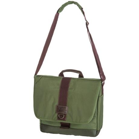 G.H. Bass & Co. McKinley Messenger Bag in Olive