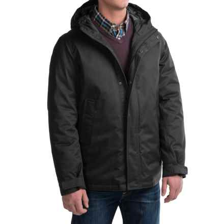 G.H. Bass & Co. Modern City Parka - Insulated (For Men) in Black - Closeouts