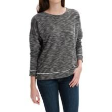 G.H. Bass & Co. Nara Sweatshirt - 3/4 Sleeve (For Women) in Black Combo - Closeouts