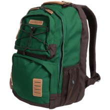 G.H. Bass & Co. Pasadena Backpack in Green - Closeouts