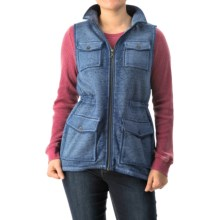 G.H. Bass & Co. Pocketed Fleece Vest (For Women) in Nightfall - Closeouts