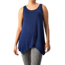 G.H. Bass & Co. Pointed-Hem Tank Top (For Women) in Nightfall - Closeouts