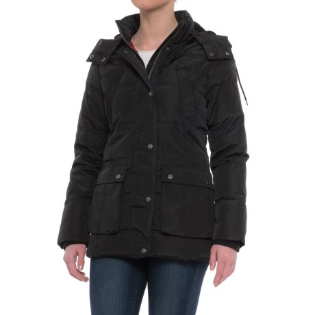 G.H. Bass & Co. Quilted Puffer Parka - Insulated (For Women) in Black