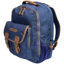 G.H. Bass & Co. Riverside Backpack in Blue - Closeouts