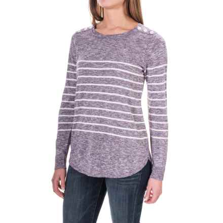 G.H. Bass & Co. Silken Sweater (For Women) in Soft Lilac - Closeouts