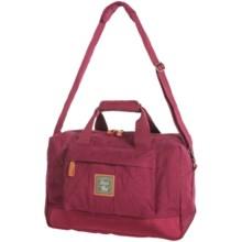 G.H. Bass & Co. Tamarack Duffel Bag - Cotton Canvas in Red - Closeouts