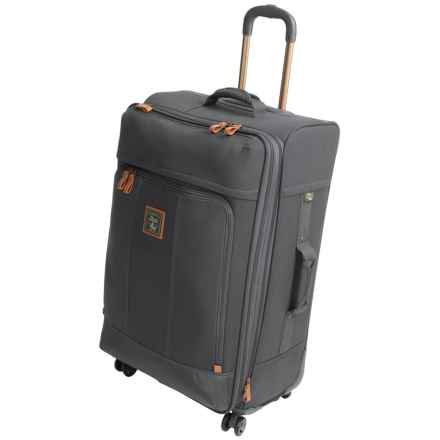 """G.H. Bass & Co. Tamarack Spinner Suitcase - 21"""" in Grey - Closeouts"""